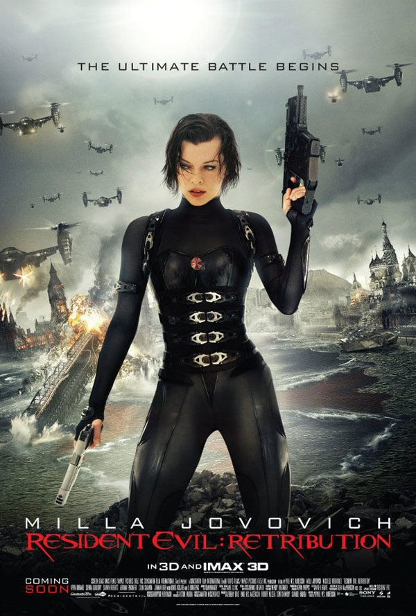 Resident Evil: Retribution - Alice and Ada Get the Axe in Latest Clip; Watch the Tokyo Premiere LIVE!