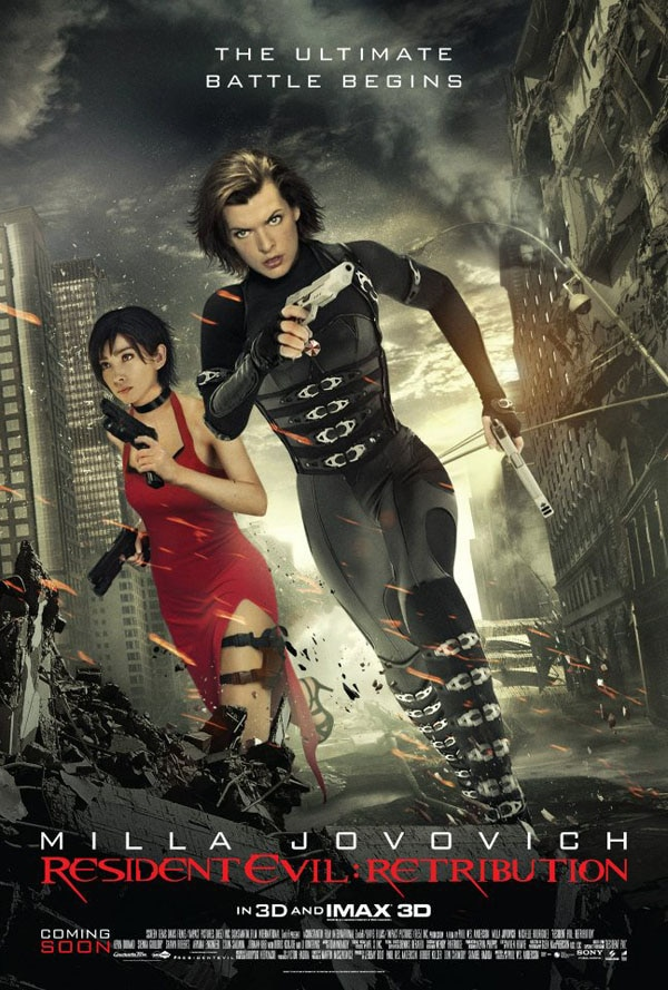 Yet Another Resident Evil: Retribution Poster Featuring You Know Who