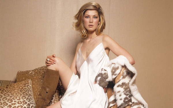 Rosamund Pike Finds a Place at The World's End