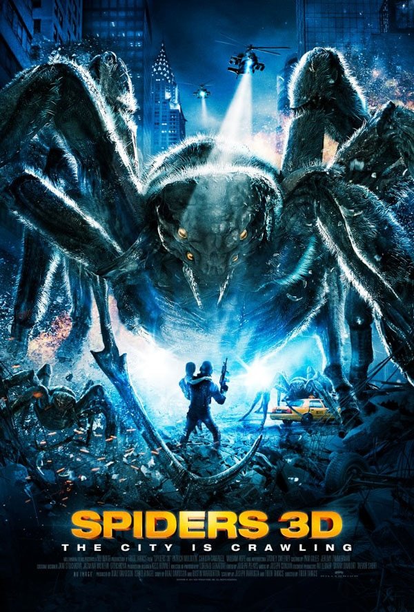 Win Tickets to the West Coast Premiere of Spiders 3D at the Los Angeles 3D Film & Music Festival