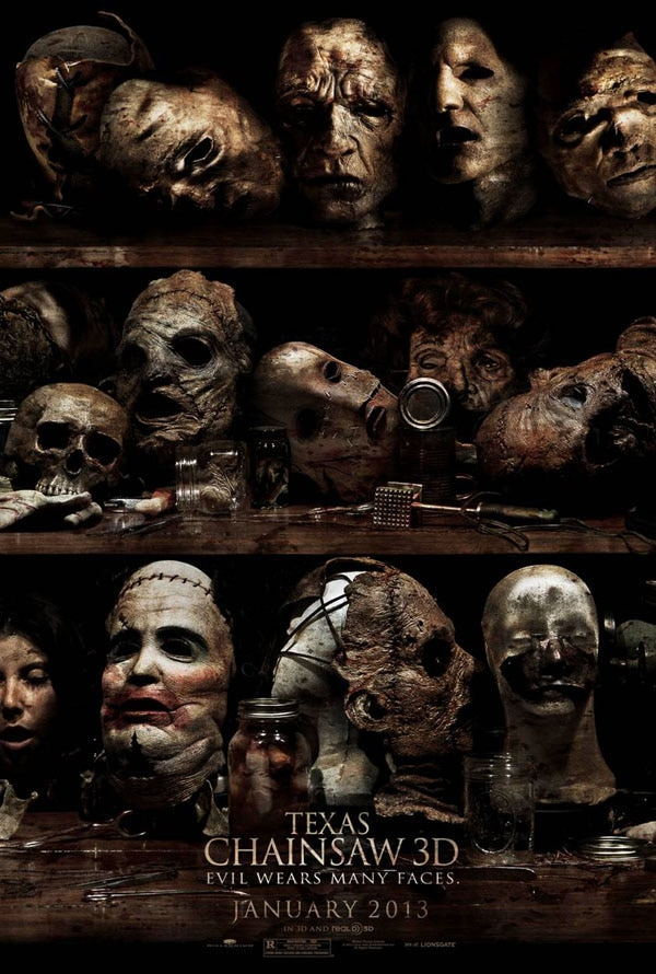 New Texas Chainsaw Massacre 3D Poster Delivers the Macabre Goods!