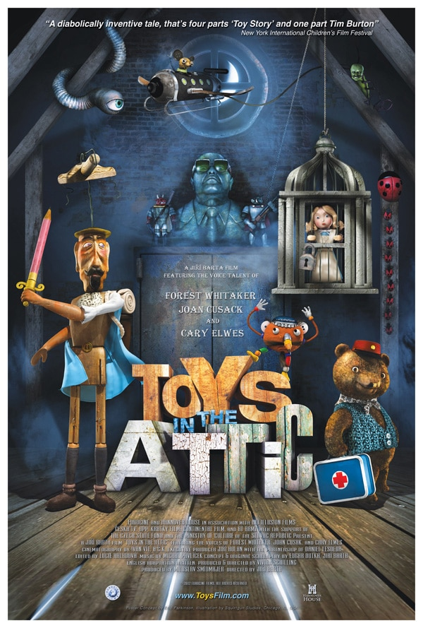 Check Out a Creepy Clip from Upcoming Stop-Motion Animated Film Toys in the Attic