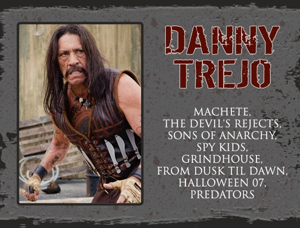 Legendary Badass Danny Trejo Added to Rock and Shock Guest List