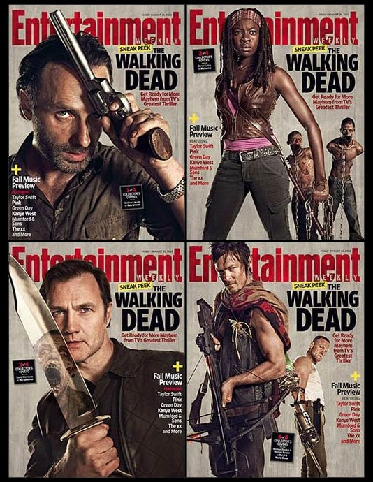 This Week's EW Has The Walking Dead Covered