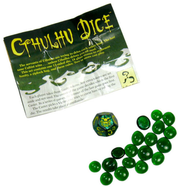 Tabletop Terrors: Take a Gamble with Zombie Dice and Cthulhu Dice from Steve Jackson Games