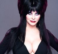 Chat With Elvira Today! That's Right, TODAY!