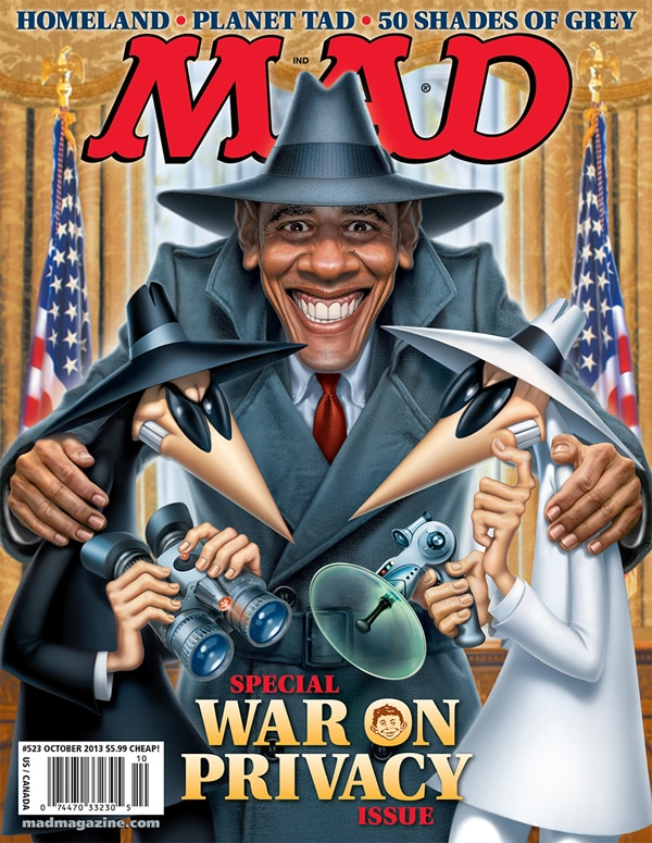 Mad Magazine - War on Privacy