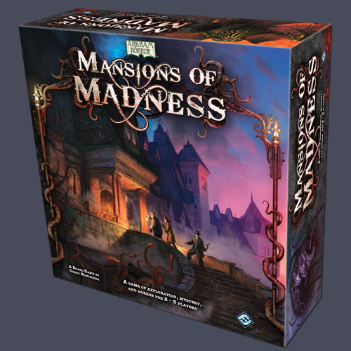 Tabletop Terrors: Mansions of Madness from Fantasy Flight Games