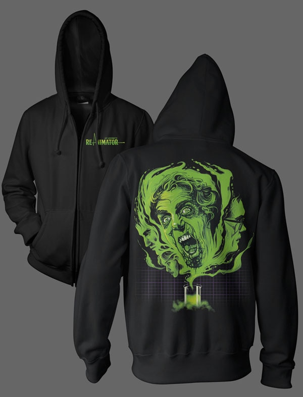 Live Again With Officially Licensed Clothing and Signed Prints from Re-Animator