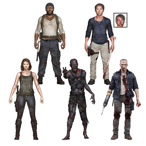 The Walking Dead Series 5 Action Figure Set