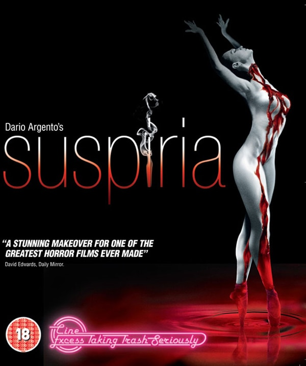 UK Art for Suspiria Blu-Ray