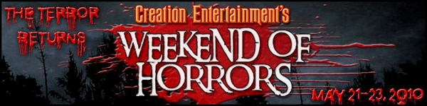 Creation Entertainment's Weekend of Horrors Bringing Some Serious Fright
