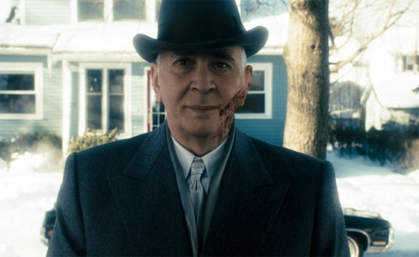Frank Langella Bringing his Whole Face to Unknown White Male