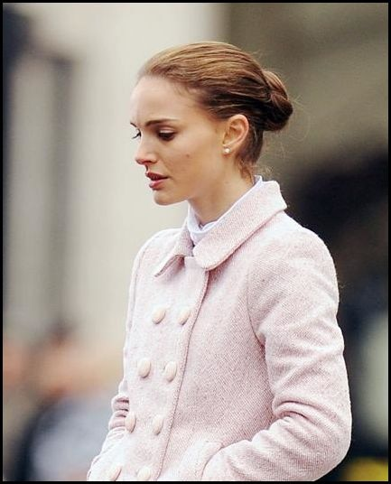 First Images of Natalie Portman on the Set of Black Swan