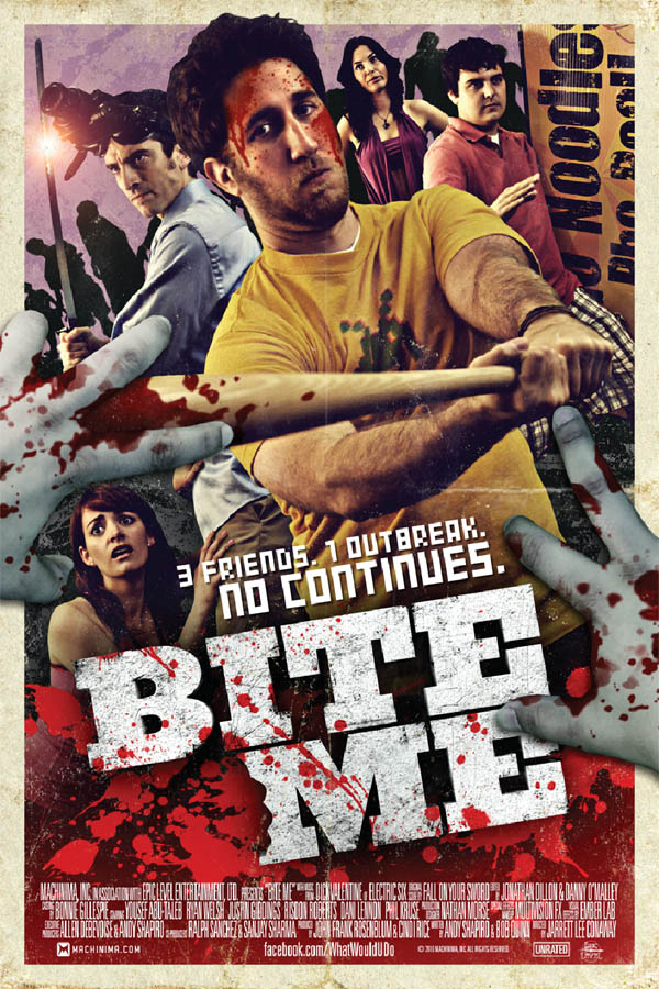 Poster and More Details on Capcom and Machinima's Zom-Com Web Series Bite Me