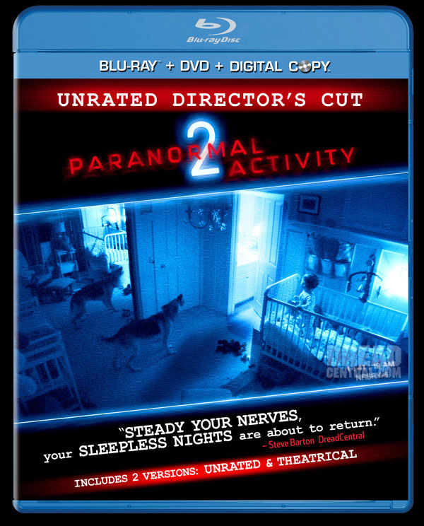 First Review - Paranormal Activity 2 on Blu-ray and DVD