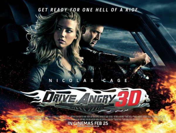 UK Quad One-Sheet and Trailer Debut - Drive Angry