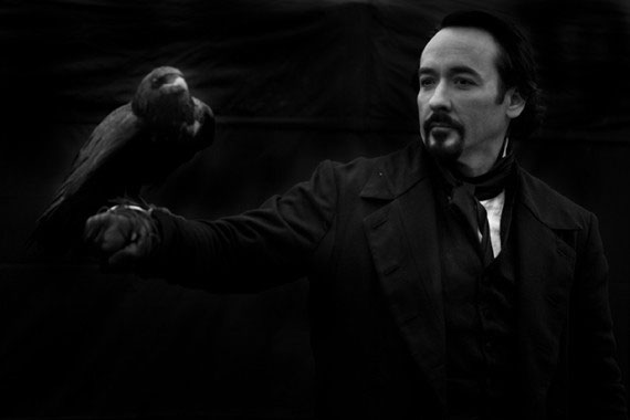 Another Look at John Cusack as Edgar Allan Poe in The Raven