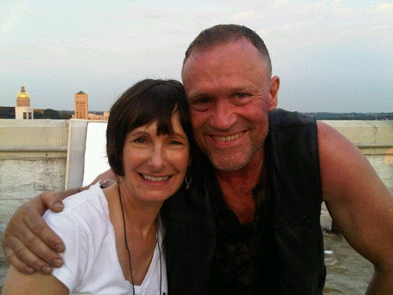 Michael Rooker and Gale Anne Hurd of The Walking Dead