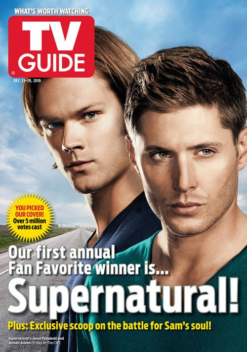 Supernatural Wins TV Guide Fan-Favorite Cover Contest