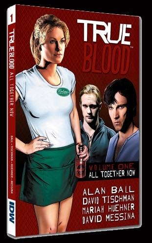 True Blood Comic First Series Compilation All Together Now
