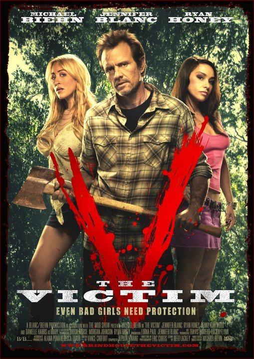 One-Sheet and Not Safe for Work Trailer Debut - The Victim