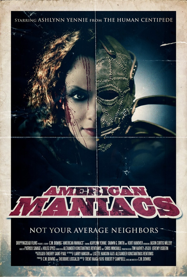 See Dread Central's Online Screening of American Maniacs With Trent Haaga, CM Downs, Dr. Gash