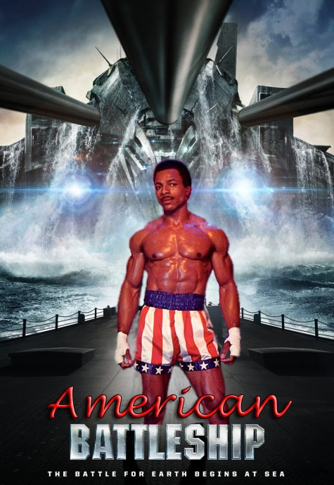 Mario Van Peebles and Carl Weathers Board The Asylum's American Battleship