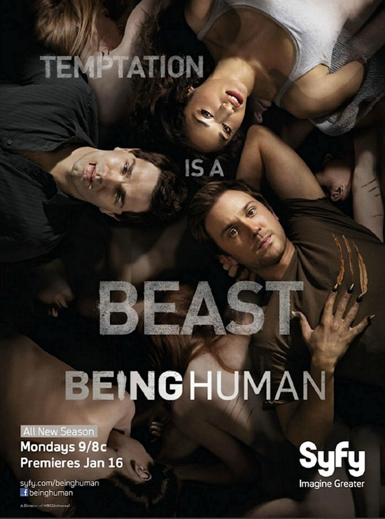 New Season 2 Cast Photo and Promo Poster for Syfy's Being Human