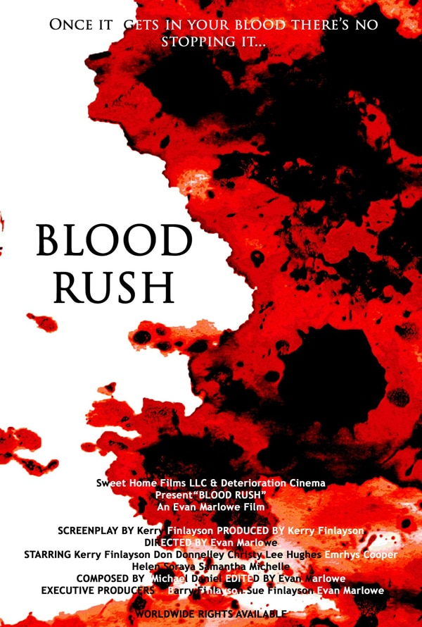 First Stills and Artwork for the Infectious New Indie Film Blood Rush