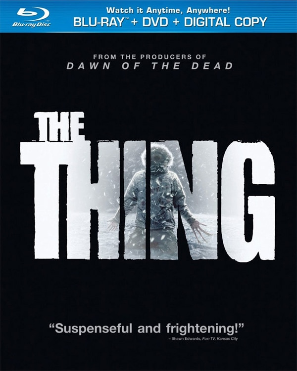 Specs Announced for The Thing on Blu-ray and DVD