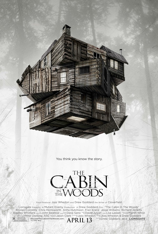 New TV Spot for The Cabin in the Woods Short but SWEET!