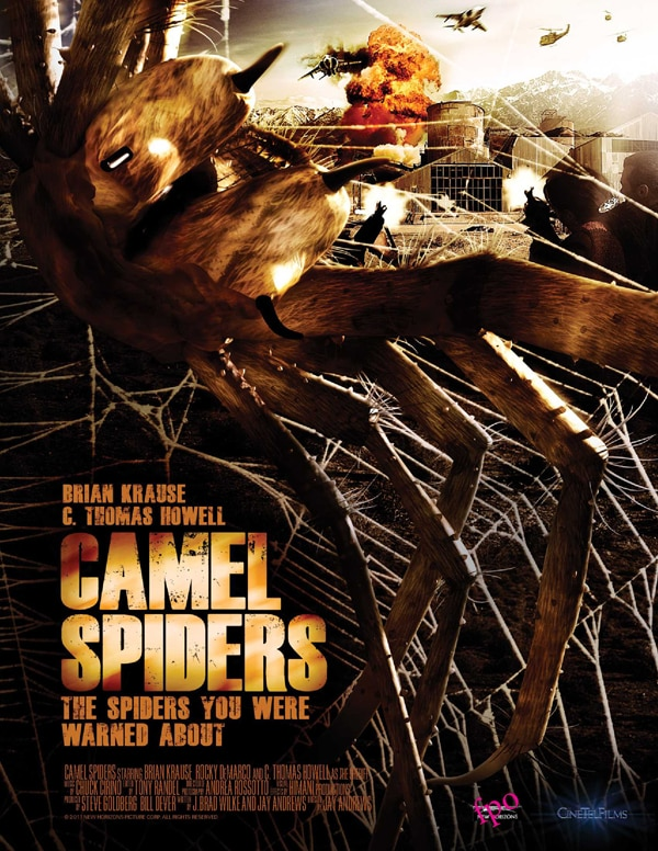 Roger Corman's Camel Spiders Marching toward DVD and Blu-ray