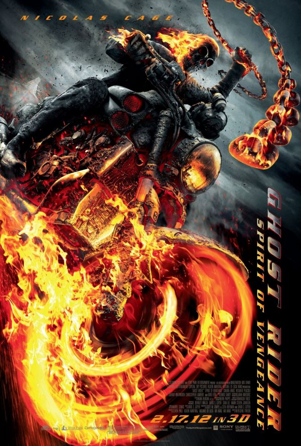 A Triple Shot of Ghost Rider: Spirit of Vengeance TV Spots