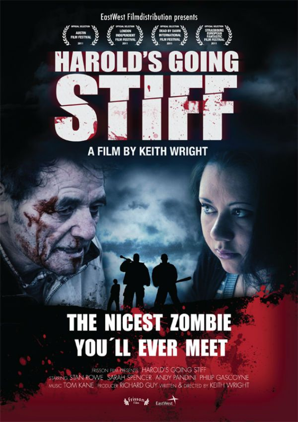 New Artwork for Harold's Going Stiff