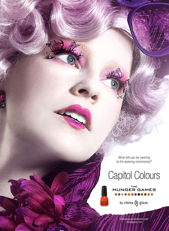 Elizabeth Banks Featured in New Promo Poster for The Hunger Games