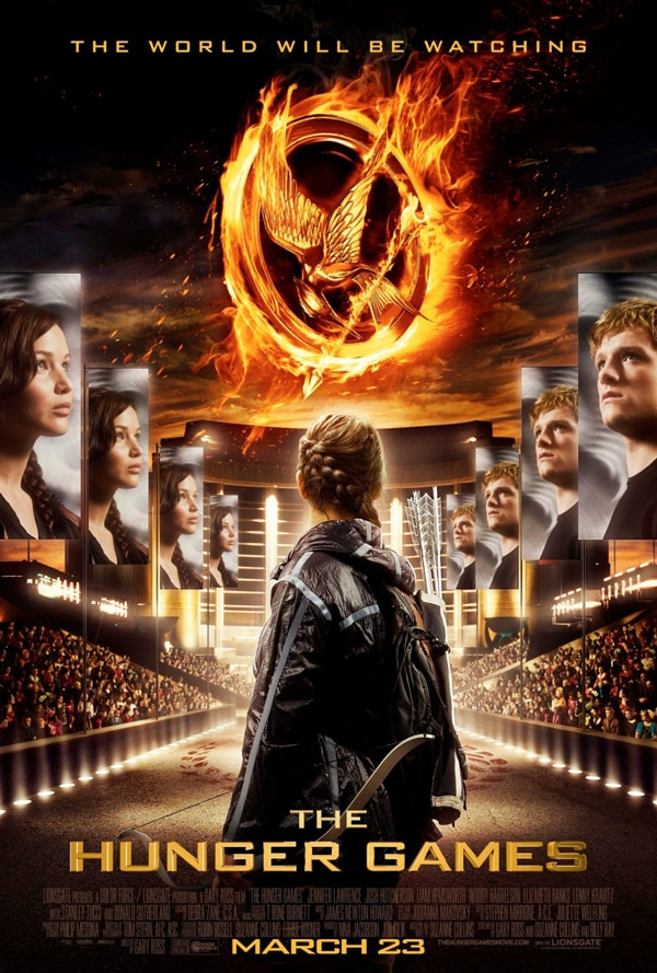 Official Poster for The Hunger Games