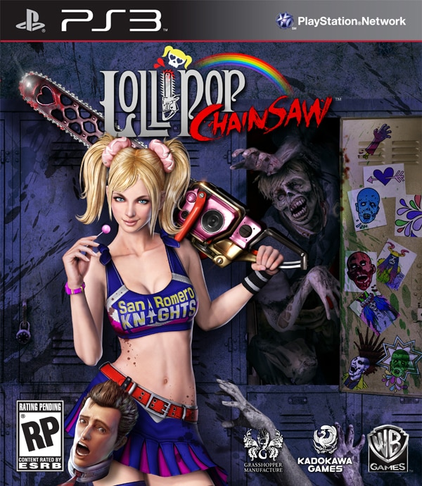 Official Lollipop Chainsaw Artwork to Get You all Hot and Severed