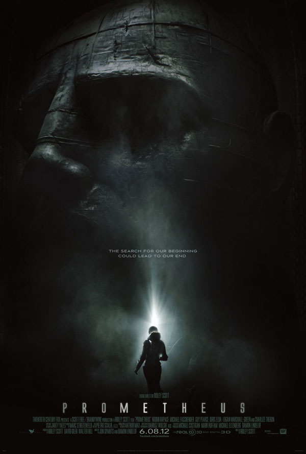 Prometheus Gets a Third TV Spot and Magazine Cover