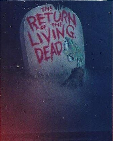 More Unseen Artwork: The Original Return of the Living Dead ... in 3D?