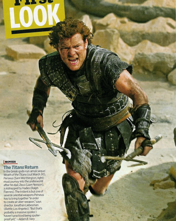 Dual-Wielding First Image from Wrath of the Titans