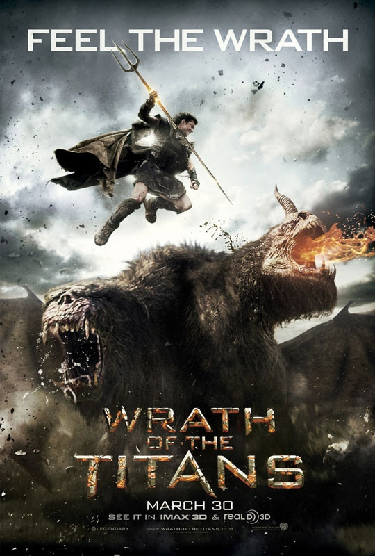 A Second Wrath of the Titans Trailer Rises from the Depths