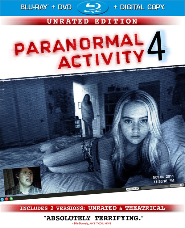 Exclusive: Paranormal Activity 4 - Final Art, Specs, and Release Date