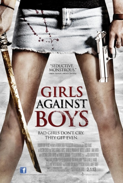 New Theatrical One-Sheet for Girls Against Boys Gets Even
