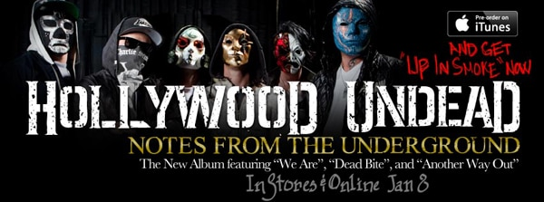 Hollywood Undead Releases Video for 'We Are', New Album Pre-Order Info, and Upcoming Tour Dates