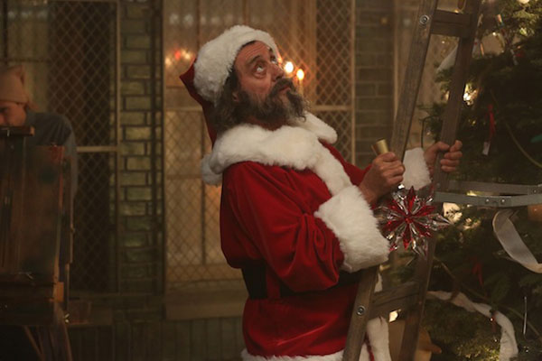 Ian McShane as Santa in American Horror Story: Asylum