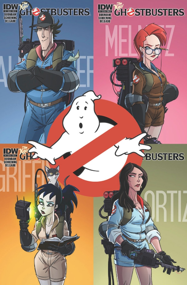 Forget the Ghostbusters III Movie and Pre-Order The New Ghostbusters Comic Instead