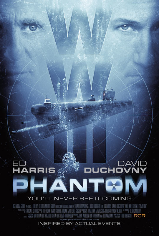 Up From the Depths - David Duchovny and Ed Harris Talk Phantom
