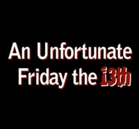 Everybody Poops... Even Busy Slashers! Check out An Unfortunate Friday the 13th!