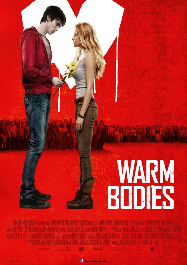 No Funny Business in German Warm Bodies Poster